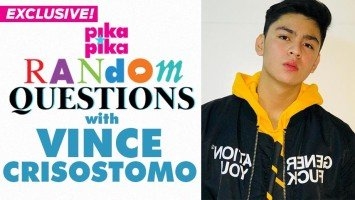EXCLUSIVE: Vince Crisostomo answers Random Questions from Pikapika!