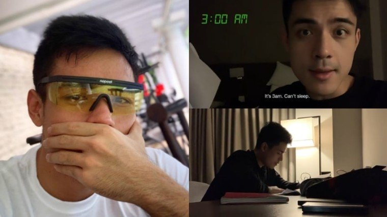 PHOTOS: @xianlimm on Instagram & Xian Lim on YouTube