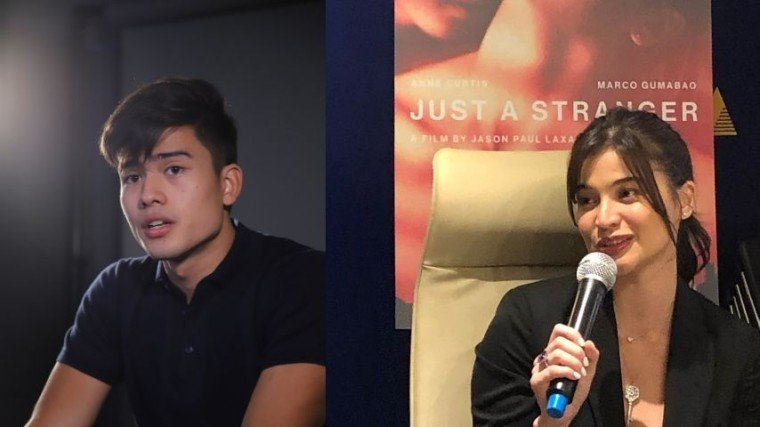 Anne Curtis is vouching that Marco Gumabao is the perfect choice as his new leading man and that she believes he did his homework for his role in Just A Stranger