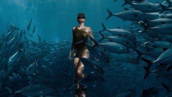 LOOK: Sarah Lahbati's surreal diving pictures!