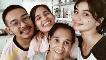 Anne Curtis made a surprise visit to her mama after successful operation