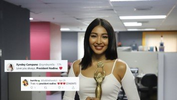 """What does Nadine Lustre think of being called """"President""""?"""
