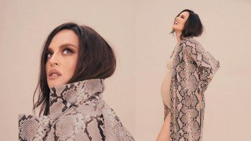 Georgina Wilson is six months pregnant with second baby