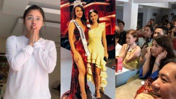 Celebrities react to Catriona Gray's win at Miss Universe 2018
