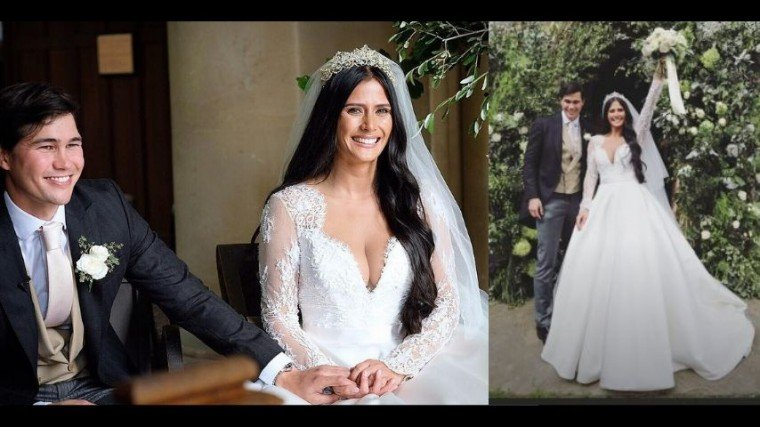 Phil Younghusband marries model and former gymnast Margaret Hall after dating for two years!
